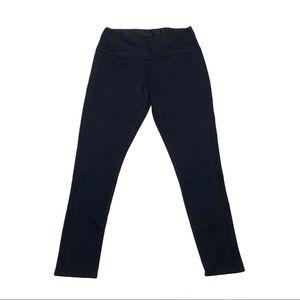 Ruby ribbon black leggings pants